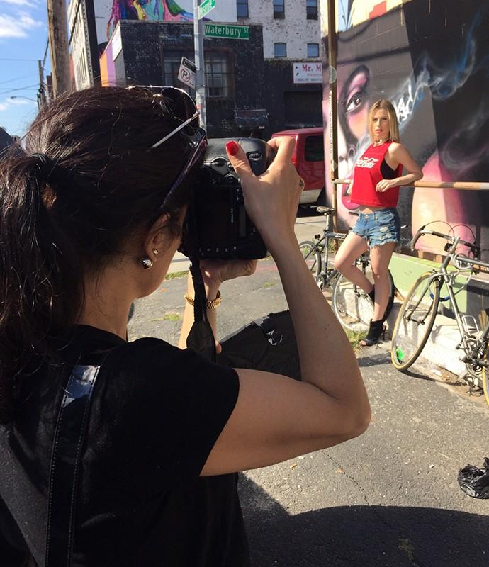 Fotógrafa Fernanda Calfat também é brasileira e deu dicas de Nova York para Keulla (Foto: Divulgação)