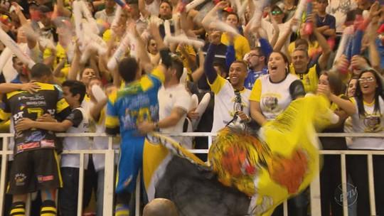 Pouso Alegre empata com Três Corações e garante o tricampeonato da Taça EPTV de Futsal