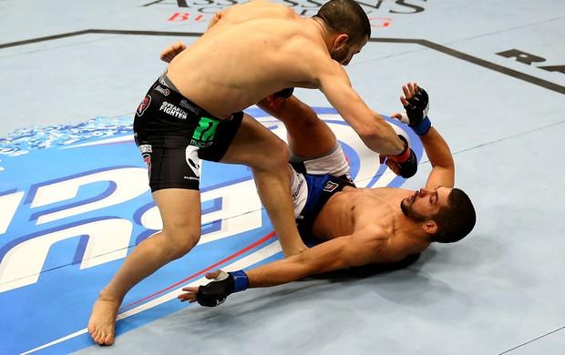 UFC John Makdessi e Renee Forte (Foto: Agência Getty Images)