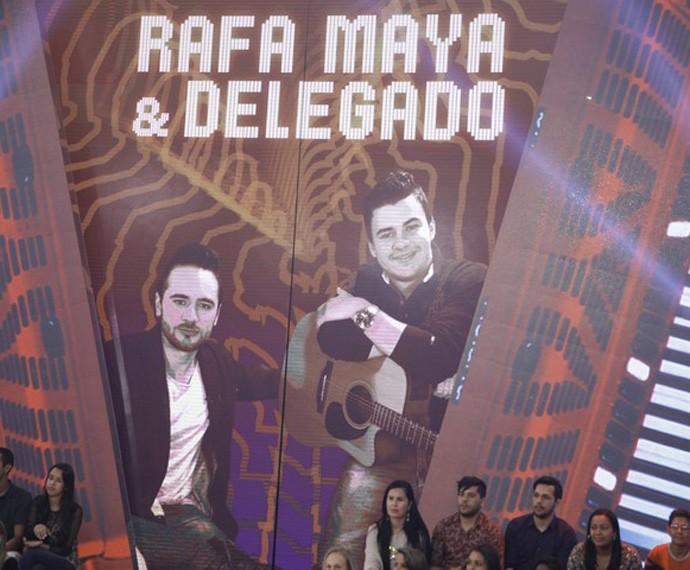 Rafa Maya e Delegado venceram a seletiva por unanimidade (Foto: João Pedro Januário)