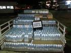 4.560 garrafas de água são apreendidas na Via Dutra, em Itatiaia