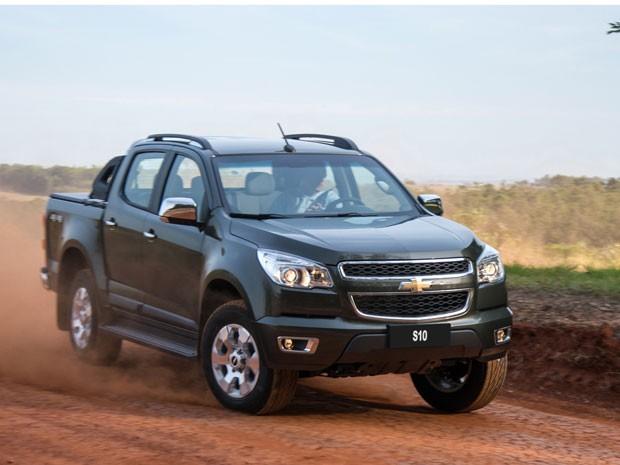 Chevrolet apresentou nesta quarta-feira (24) em Puerto Iguazu, na Argentinax, a linha 2015 de sua picape média, a S10 (Foto: Divulgação)
