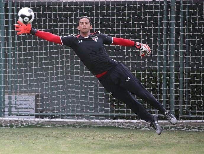 Renan Ribeiro, goleiro do São Paulo (Foto: Rubens Chiri / saopaulofc.net)