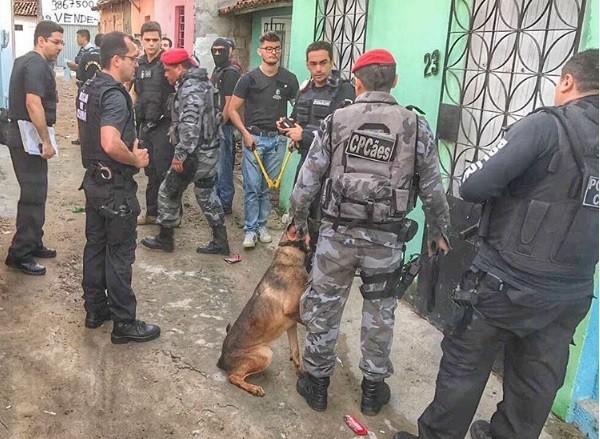 Secretário de Segurança do Ceará, André Costa, participou de operação contra o tráfico de drogas em Caucaia (Foto: André Costa/Arquivo pessoal)