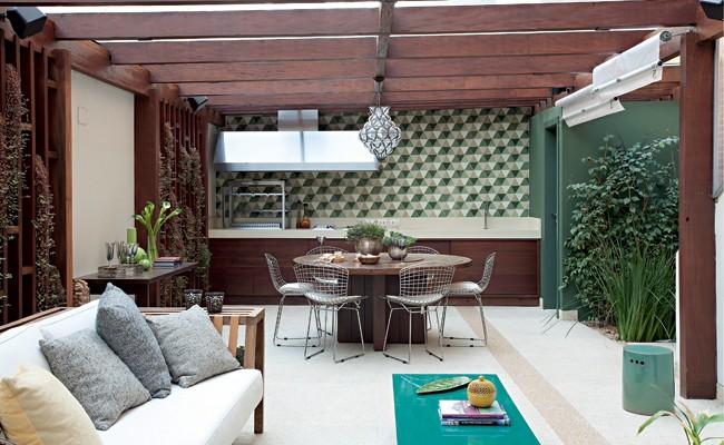 Rea de lazer feita para receber os amigos casa e jardim for Piscina 5x3 fuori terra