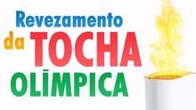Revezamento da Tocha Olímpica: TV Rio Sul tem programação especial (Reprodução)