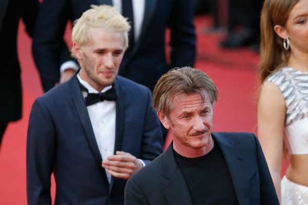 O ator Sean Penn e o filho, Hopper Penn (Foto: Getty Images)