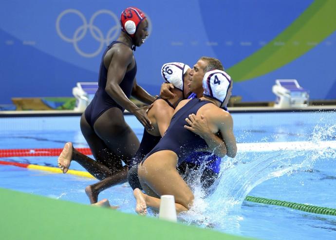 Adam Krikorian polo aquático Estados Unidos (Foto: Reuters)