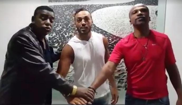 Belo anuncia retorno ao Gigantes do Samba em vídeo (Foto: Reprodução)