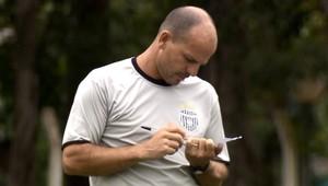 Cléber Gaúcho, técnico União Barbarense (Foto: Reprodução EPTV)