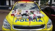 Polícia recupera 41 celulares roubados de loja em Planaltina