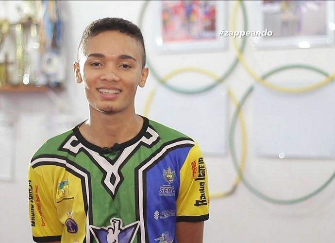 Venilton Teixeira vai disputar as Olimpíadas de 2016 (Foto: Zappeando)