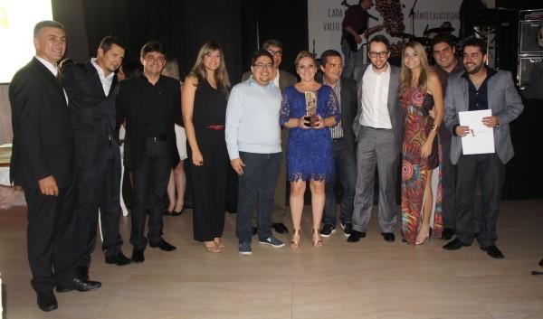 Na categoria Campanha, o primeiro lugar do pódio ficou com a Dabliu A, pelo conjunto de filmes Sorriso Perfeito, criado para o Eydental Centro Odontológico (Foto: Daniel Sousa/ TV Cabo Branco)