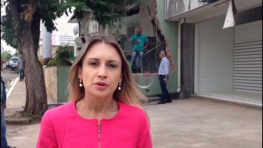 Ladrões explodem três bancos e uma agência dos Correios de Ivaí, no PR