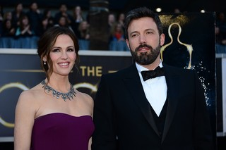 Jennifer Garner e Ben Affleck no Oscar (Foto: AFP / Agência)
