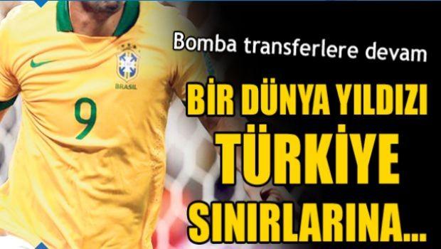 Fred em destaque na imprensa turca (Foto: Reprodução)