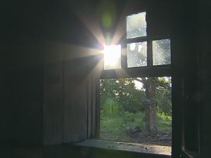 Janela do antigo casarão de Sentinela do Sul (Foto: Reprodução)