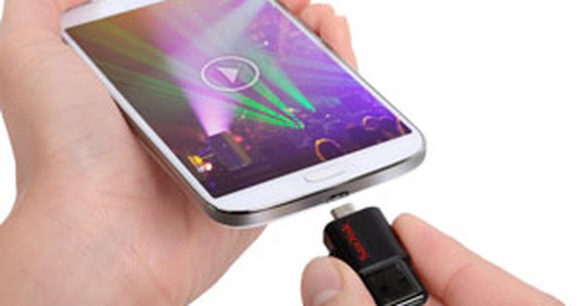 Empresa lança pendrive para smartphones e tablets Android