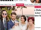 Divulgadas fotos do casamento de Jack Osbourne e Lisa Stelly