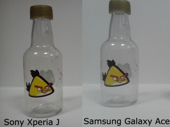 Xperia J tem câmera melhor do que a do Galaxy Ace (Foto: Elson de Souza/TechTudo)