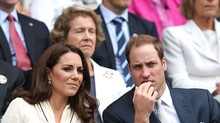 Kate Middleton e príncipe William  prestigiam Federer (Getty Images)