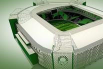 Explore o novo estádio do Palmeiras em 3D (Editoria de arte)