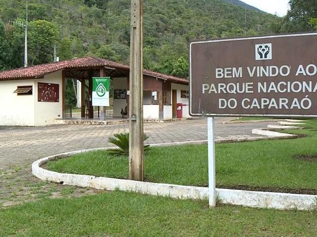 Parque Nacional do Caparaó suspende visitação (Foto: Reprodução/ TV Gazeta)