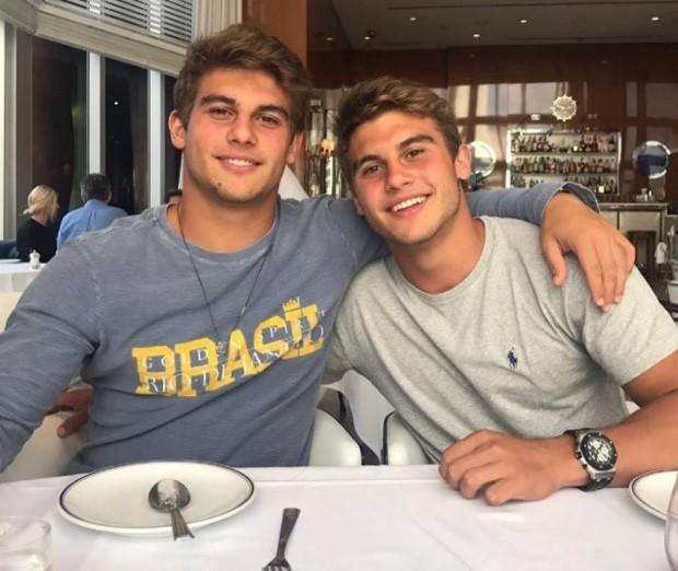 Pietro e Bruno Bacchi bombam na web após vídeo publicado por Adriane Galisteu (Foto: Reprodução/Instagram)