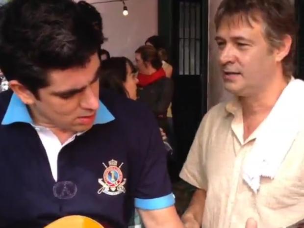 Marcelo Adnet e Nelson Freitas (Foto: Reprodução/ Instagram)