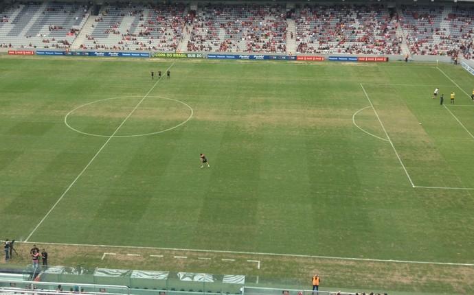 arena da baixada atlético-pr x são paulo copa do brasil sub-20 (Foto: Monique Silva)