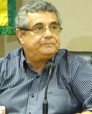 Rubens Lopes, Reunião Ferj (Foto: Vicente Seda / Globoesporte.com)