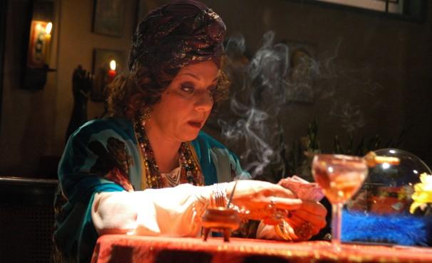 Rosi Campos era a madame Rúbia em O Profeta (Foto: TV Globo / Willian Andrade)