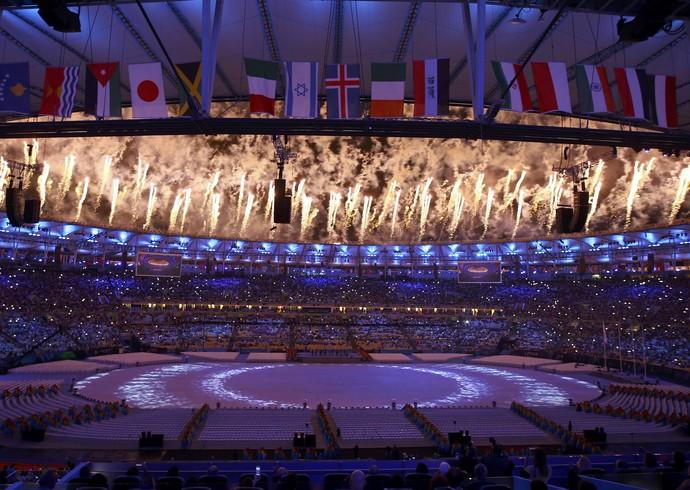 Cerimônia de Encerramento - Rio 2016 (Foto:  REUTERS/Leonhard Foeger)