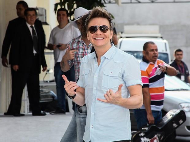 Michel Teló em festa em São Paulo (Foto: Manuela Scarpa/ Foto Rio News)