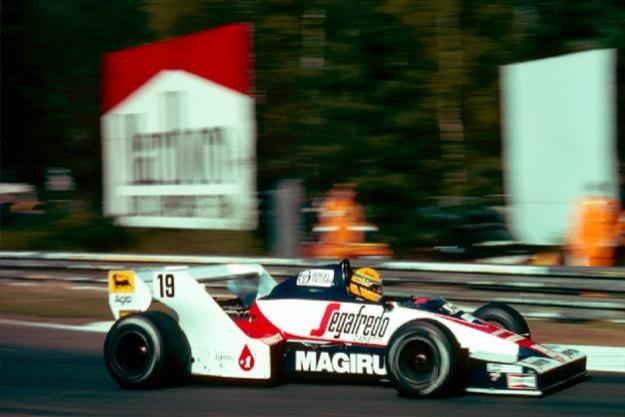 Toleman usada por Ayrton Senna em 1984 (Foto: Divulgação)