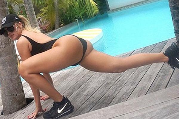 A celebridade profissional Khloe Kardashian (Foto: Reprodução)