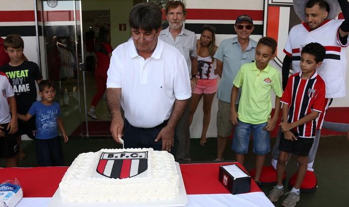 Gerson Engracia Garcia, presidente do Botafogo-SP aniversário (Foto: Rogério Moroti / Agência Botafogo)