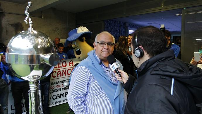 Presidente Romildo Bolzan Júnior Grêmio taça América (Foto: Lucas Uebel/Grêmio)