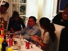 Silvio Santos comemora aniversário de 86 anos em família