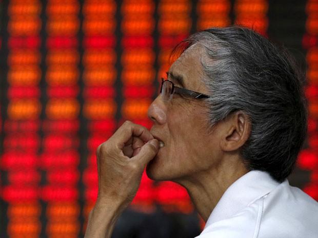 As ações chinesas subiram pelo segundo dia seguido, impulsionadas por uma leva de medidas de apoio vindas de Pequim (Foto: Reuters)