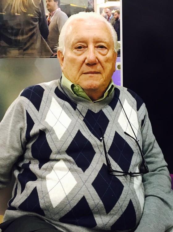 Luiz Barsi, um dos maiores investidores indivuduais da BMF&Bovespa  (Foto: Luís Lima'')