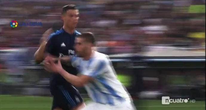 Cristiano Ronaldo Albentosa Real Madrid Málaga