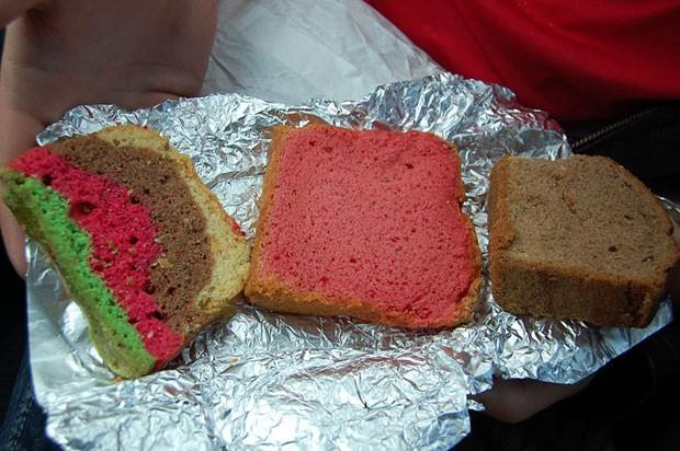 Os chamados 'bolos espaciais' podem conter maconha ou haxixe (Foto: BBC)