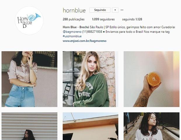 Hornblue (Foto: Instagram)
