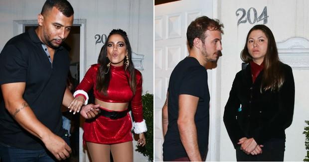Anitta e seu suposto novo namorado, Luiz Restiffe (Foto: Manuela Scarpa/Brazil News)