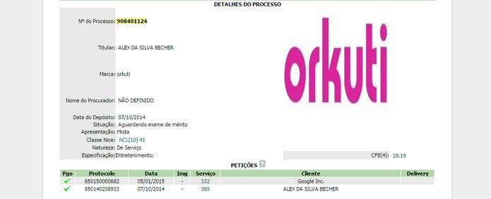Orkuti (Foto: Reprodução/Laura Martins)