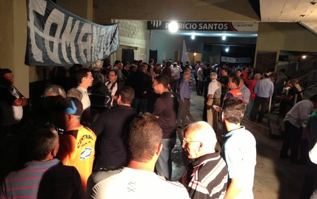 Eleição Central-PE (Foto: Vital Florêncio / GloboEsporte.com)