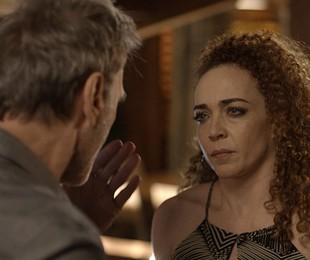 Laila Garin e Herson Capri em cena de 'Rock story' | Reprodução