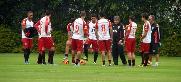 São Paulo treino (Foto: Site oficial do São Paulo FC)