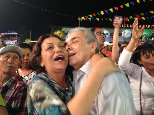 Lucimar Alcântara e José Alcântara, autônomos (Foto: Paula Cavalcante/ G1 Caruaru)